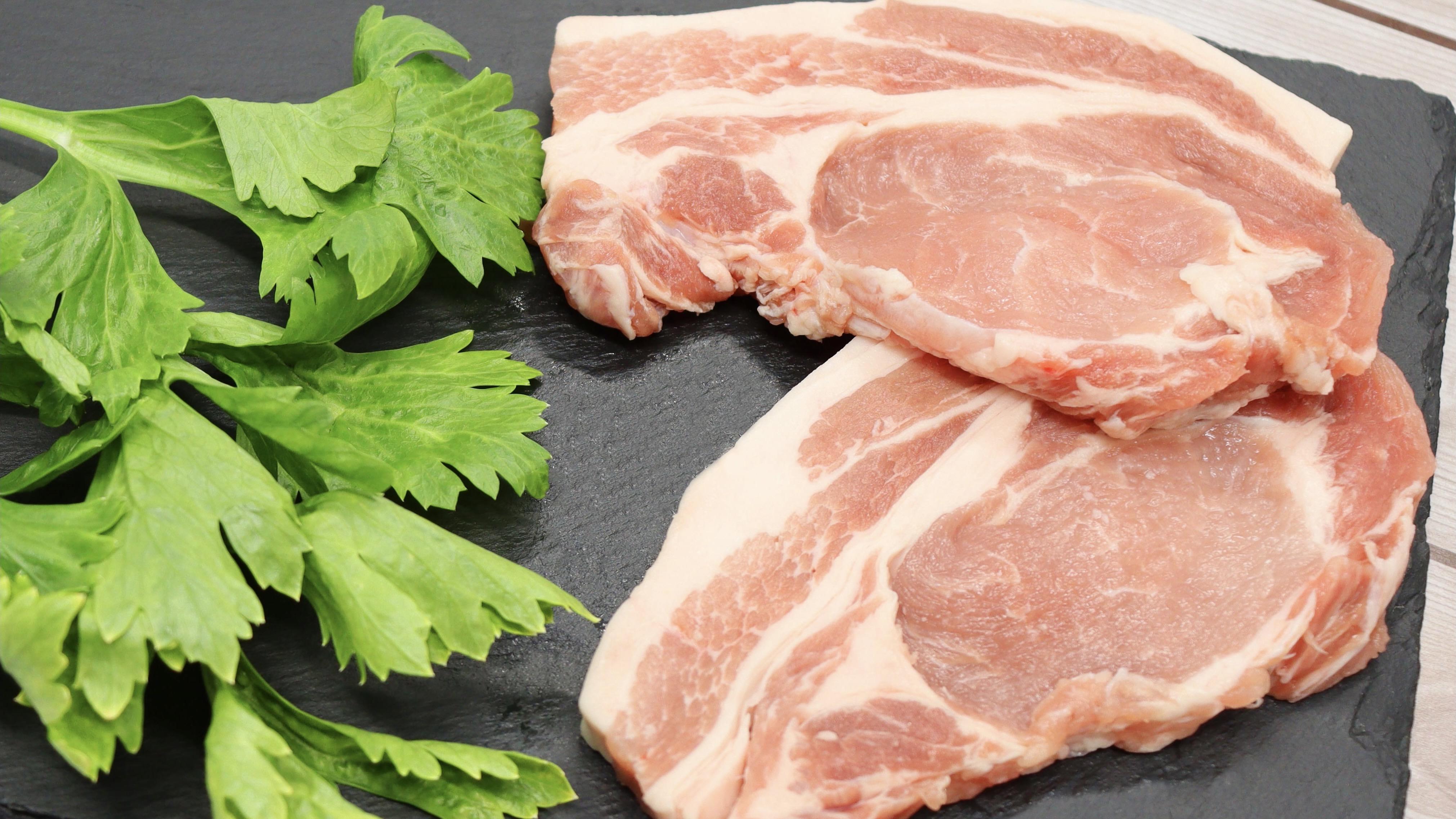 並木精肉店の豚肉